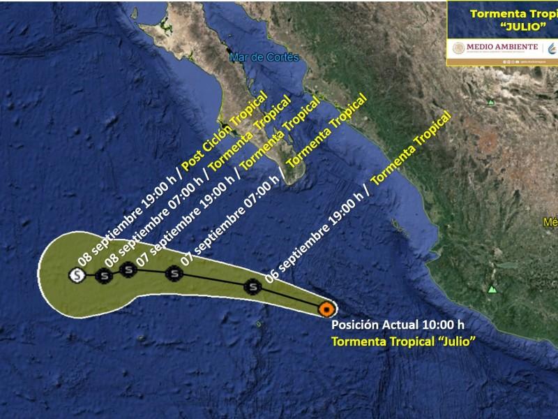 Alerta en Jalisco, Nayarit, y Michoacán por Julio