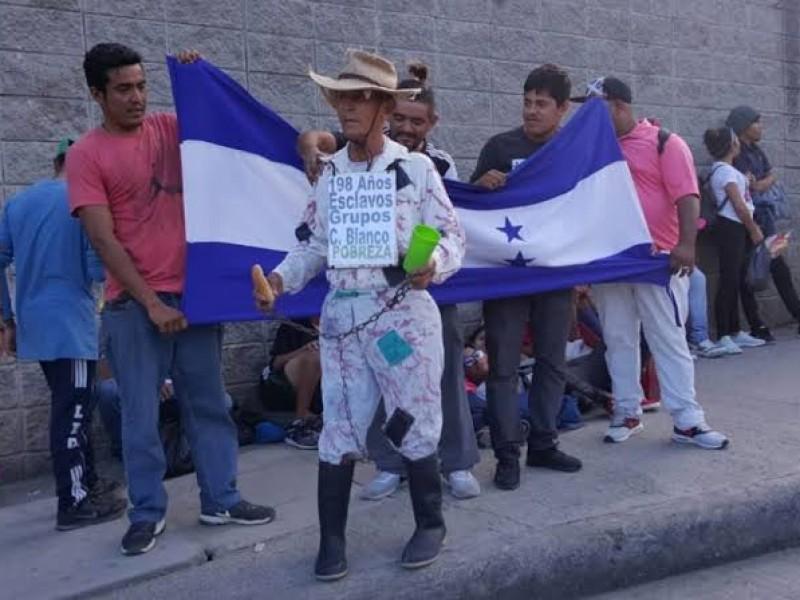 Alerta en la frontera sur por caravana migrante
