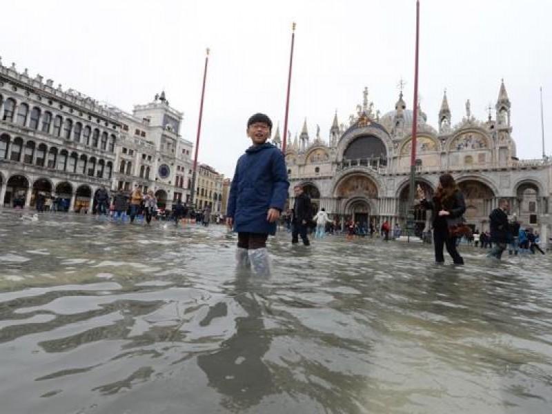Alerta en Venecia por marea alta