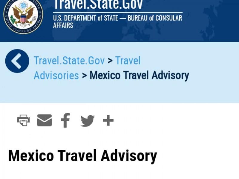 Alerta EU no viajar ciudades de Guanajuato por violencia