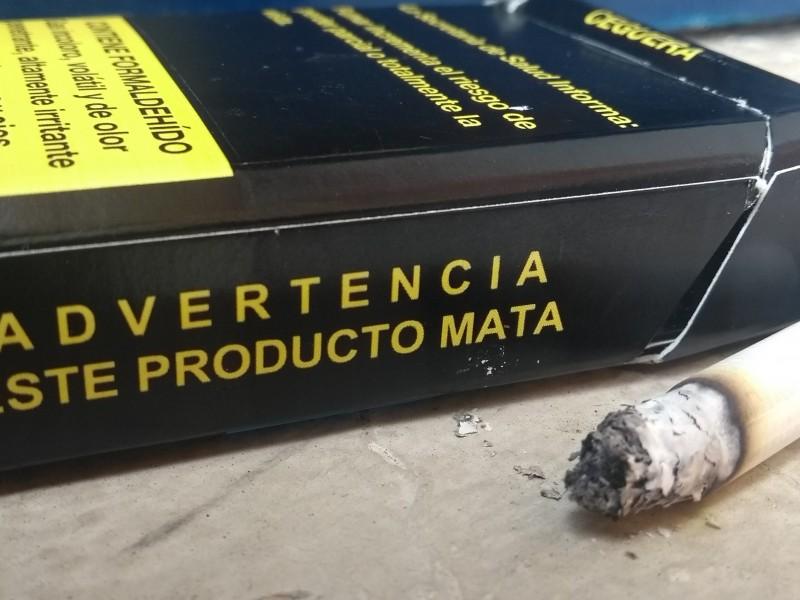 Alerta por consumo de tabaco en menores
