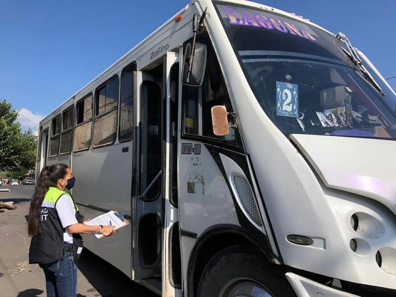 Alerta Secretaría de Movilidad durante reestructuración de rutas de transporte