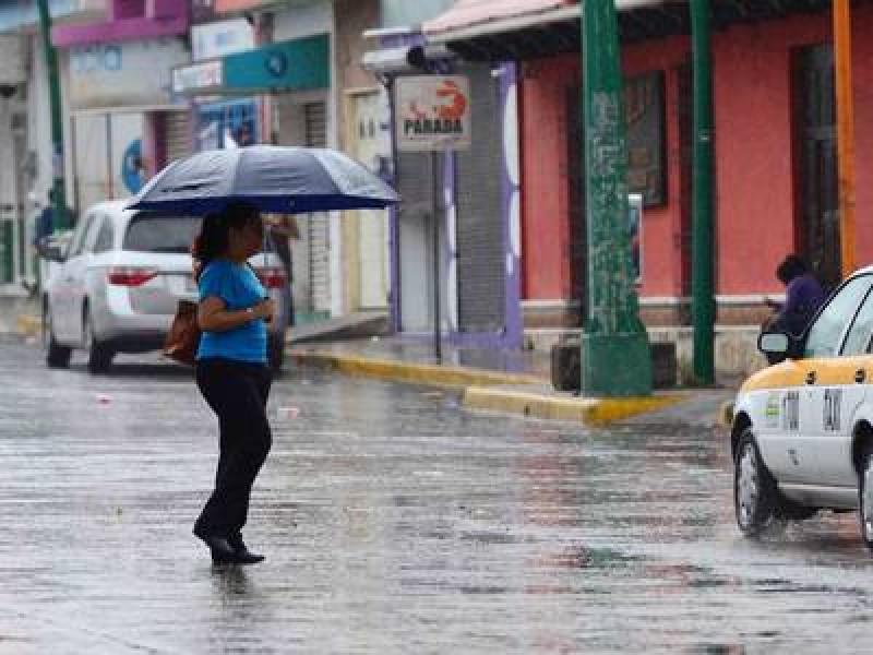 Alerta verde en 5 regiones de Chiapas por lluvias fuertes