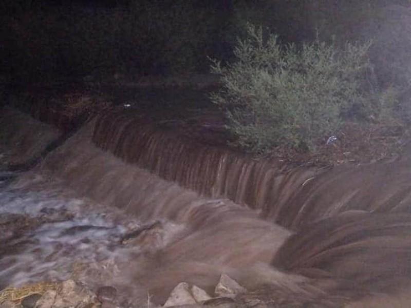 Alertan a no cruzar el Río Mayo tras las lluvias