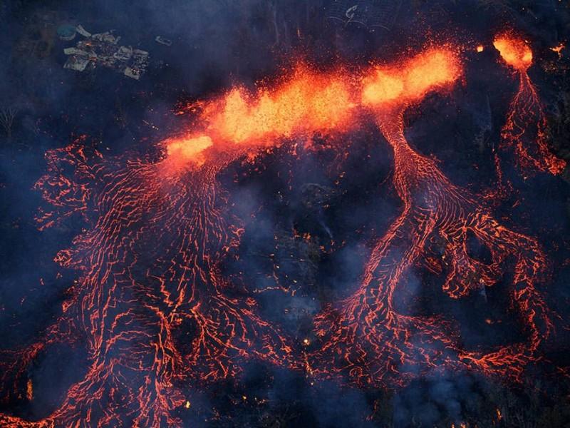 Alertan por actividad del Kilauea