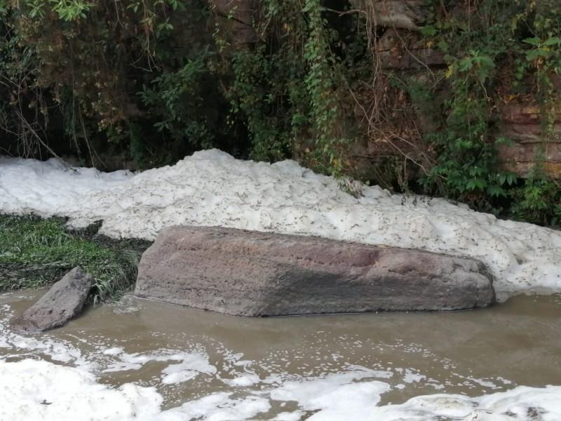 Alertan por contaminación del río La Soledad, en Zapopan