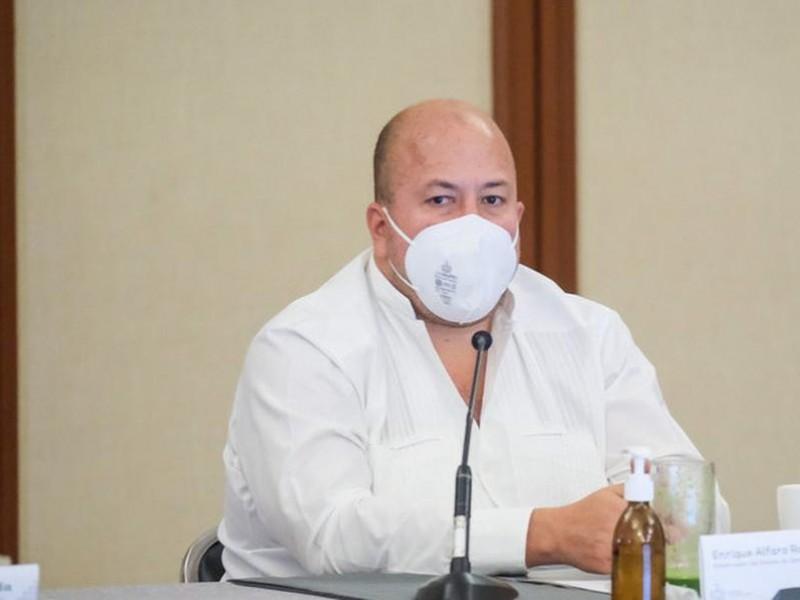 Alfaro se deslinda de respaldo a García Cabeza de Vaca