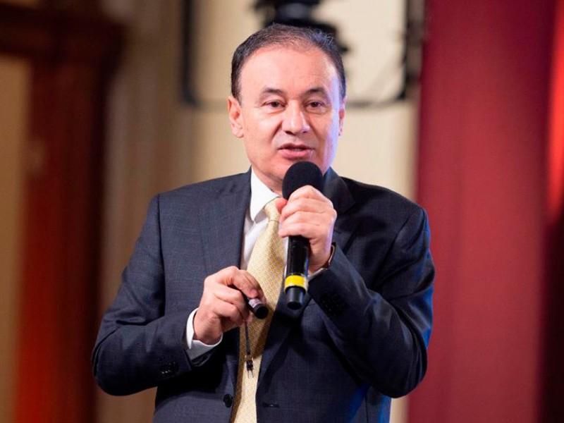 Renuncia Alfonso Durazo; contenderá por gubernatura de Sonora