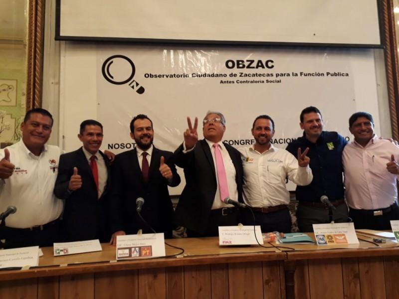 Álgido debate entre candidatos al Ayuntamiento de Zacatecas