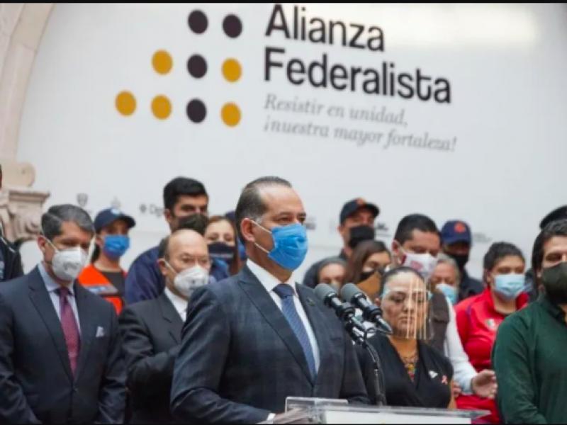 Alianza federalista no depende de la voluntad de los gobernadores