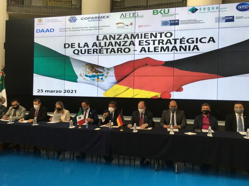 Alianza Querétaro-Alemania por la educación