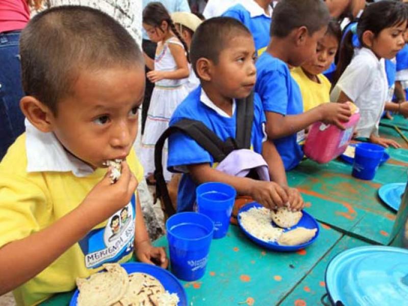 Alimentación, la base para un desarrollo integral de los niños