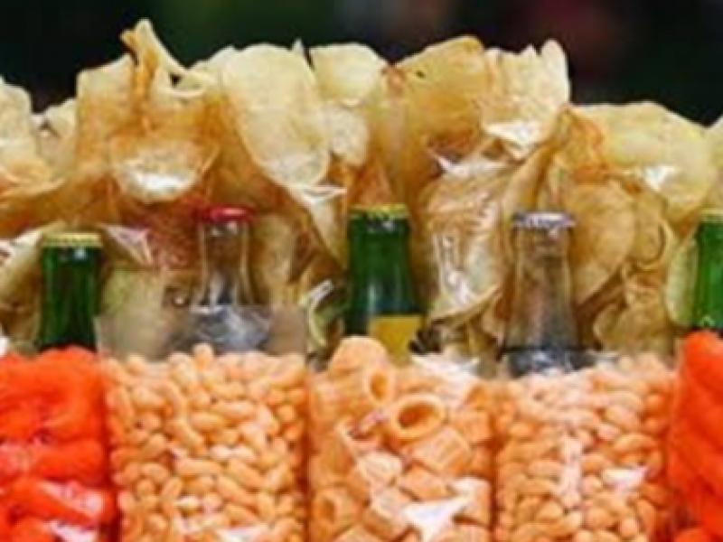 Alimentos chatarra, prácticos, rápidos y baratos
