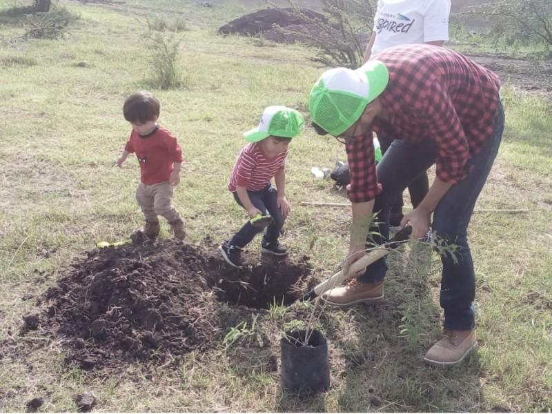 Alista El Marqués programa Adopta un Árbol