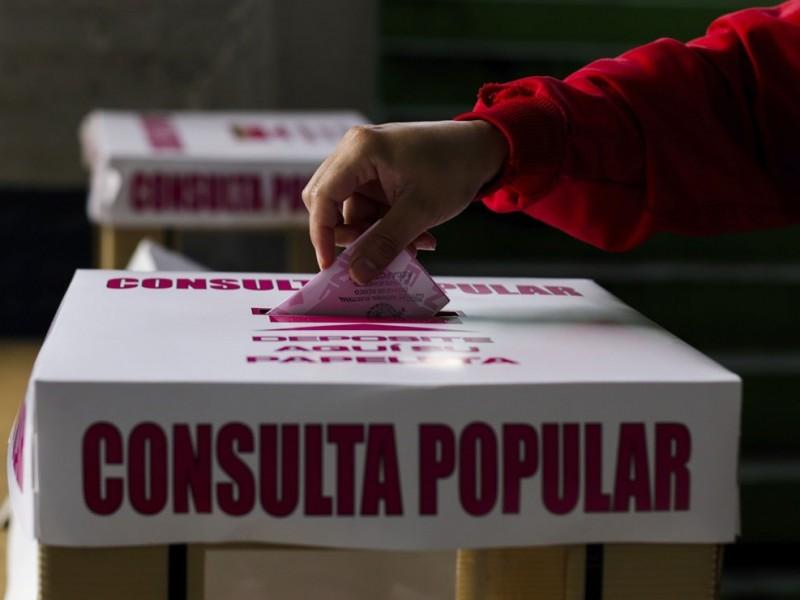 Alista INE consulta popular para la revocación de mandato