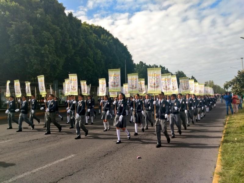 Alistan detalles del Desfile del 16 de Septiembre
