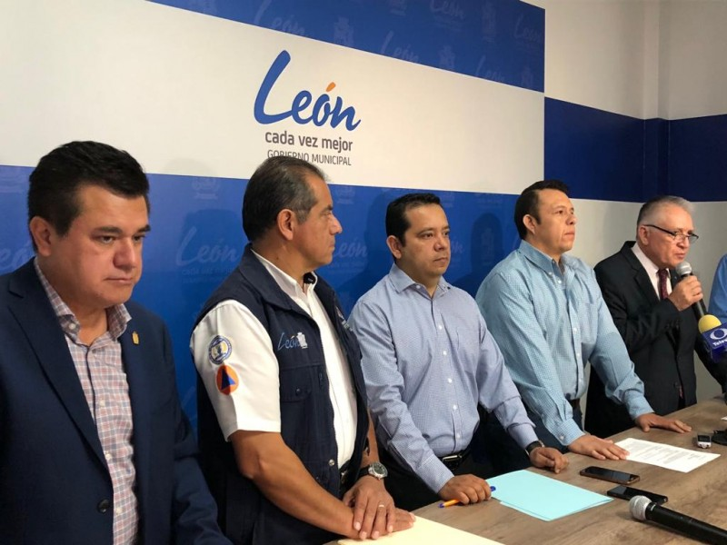 Alistan programa de prevención de inundaciones en León