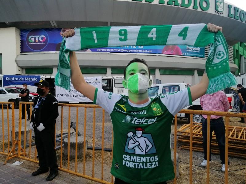 Alistan regreso de aficionados del Club León al estadio
