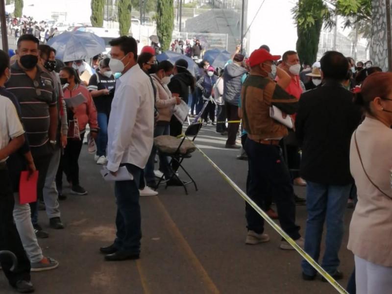Alistan vacuna para Tehuacán  de 40 en adelante