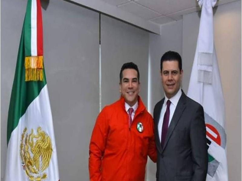 Alonso Reyes secretario adjunto en CEN del PRI