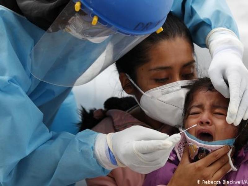 Alrededor de 200 niños duranguenses se han contagiado de Covid-19