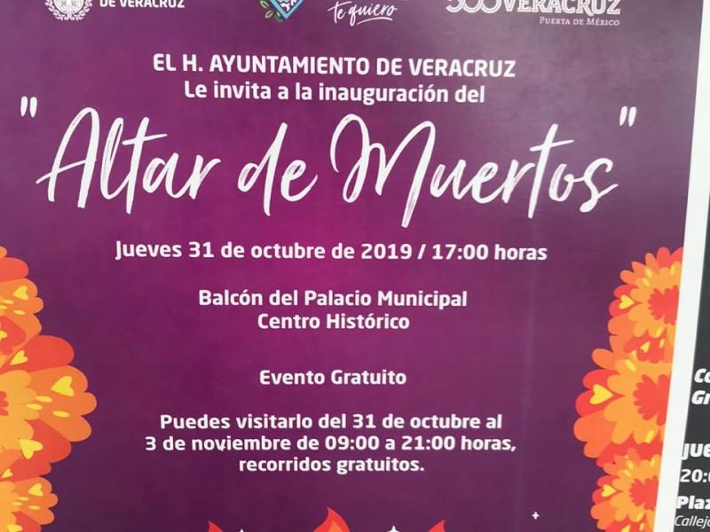 Habrá Altares y desfile de catrinas en Veracruz