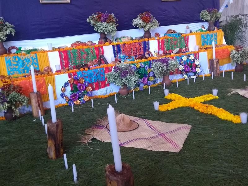 Altares zoques tradición que se conserva