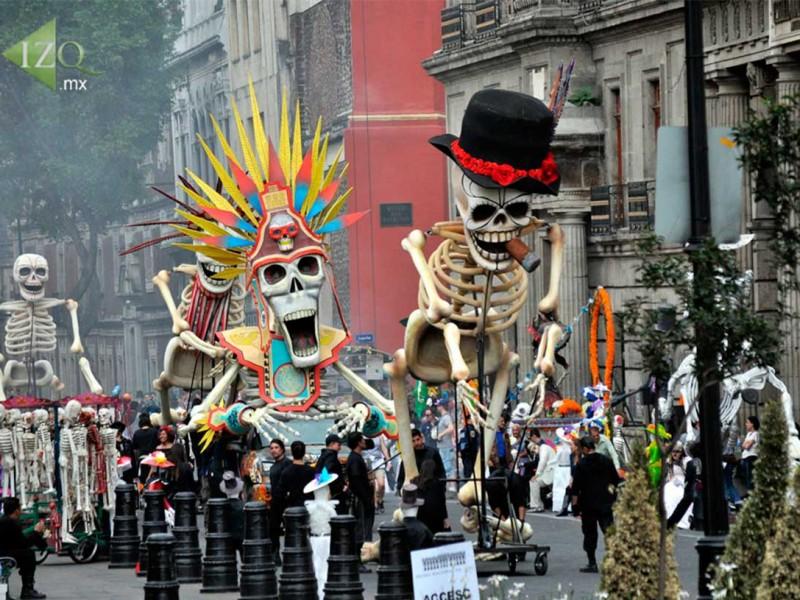 Alternativas viales por Desfile de Día de Muertos