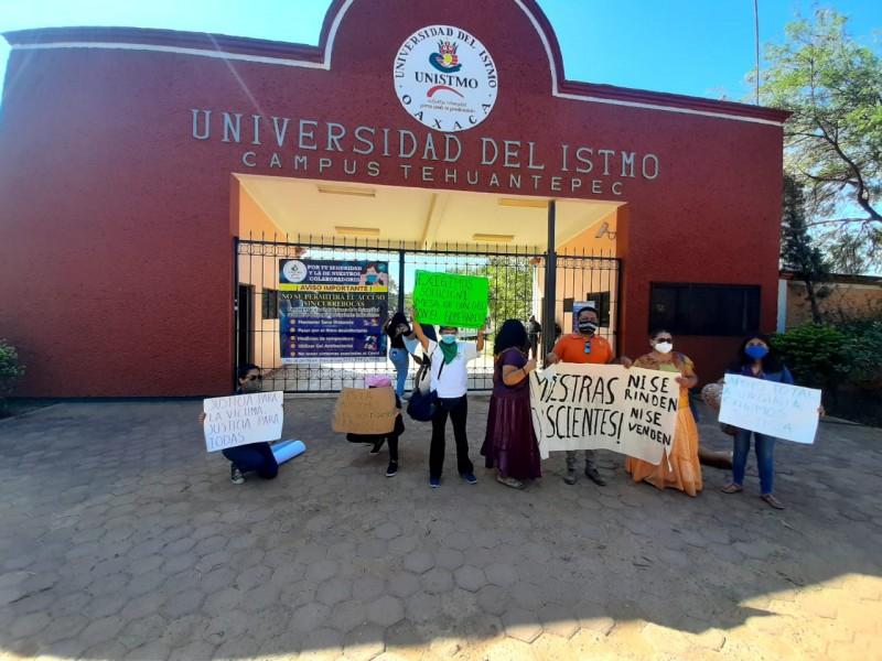 Alto al acoso sexual y laboral, demandan mujeres del Istmo