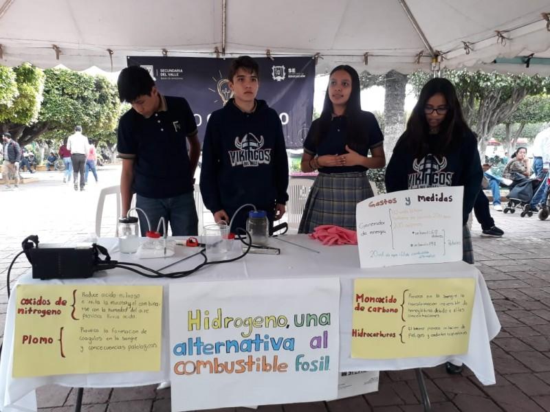 Alumnos de secundaria nayarita desarrollan combustible a base de hidrógeno