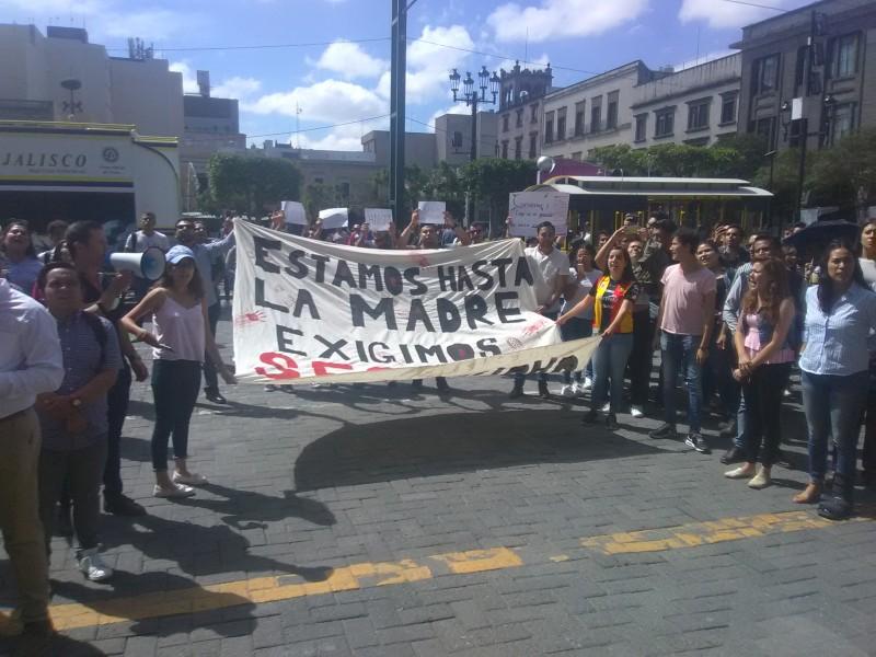 Alumnos del CUCSH exigen a autoridades más vigilancia