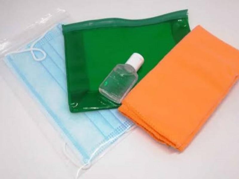 Alumnos integrarán kit de limpieza anti-covid a sus útiles escolares