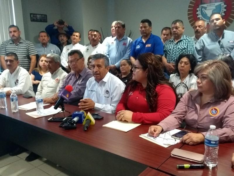 Amaga CTM con huelga estatal