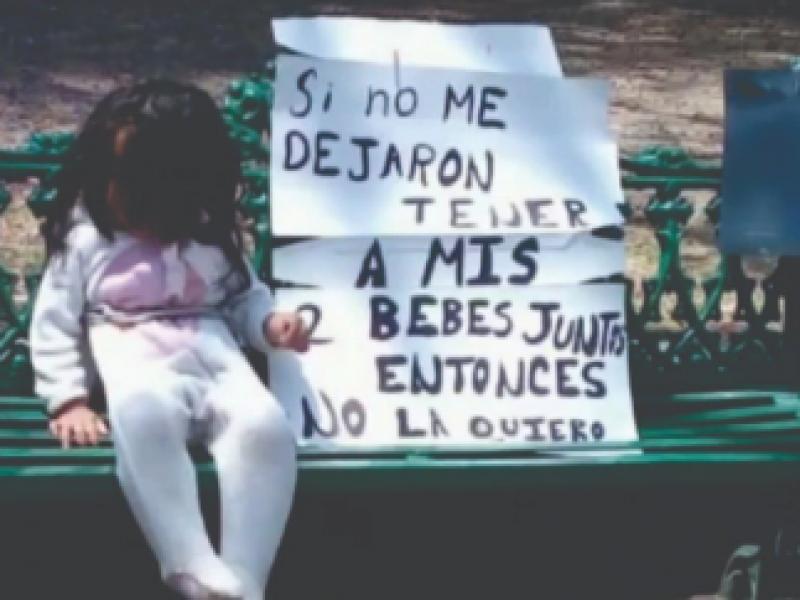 Amarran a una menor en Paseo Bravo
