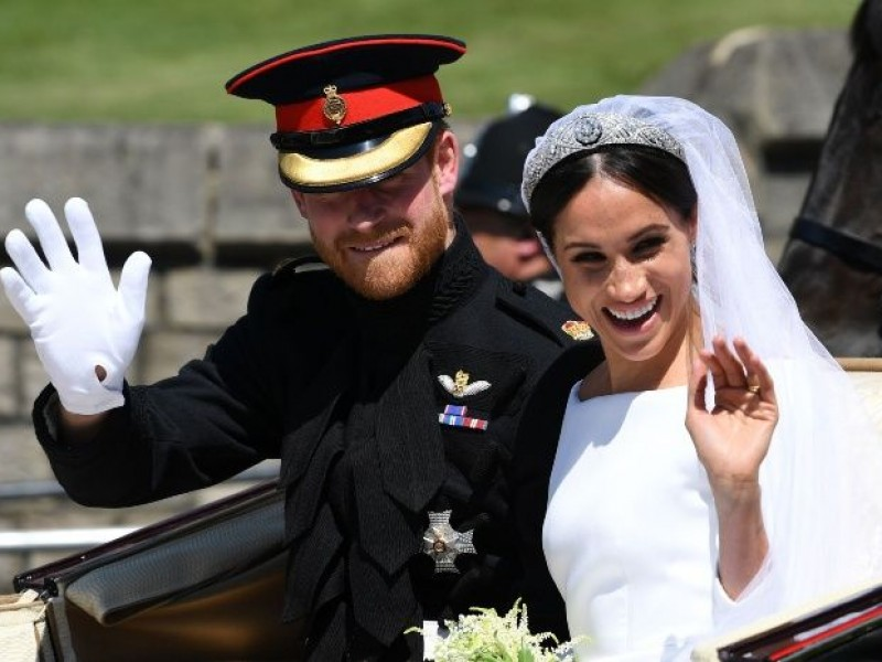 Ambiente festivo en Windsor por boda real