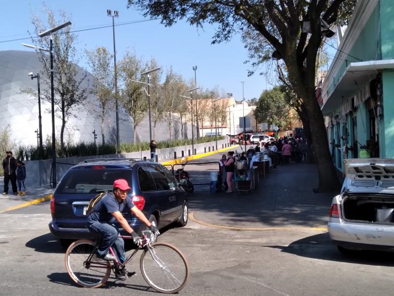 Ambulantaje llena las calles del centro de Toluca