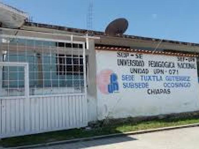 Amenazan con huelga por presunta imposición en la UPN