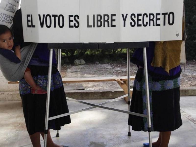 Amenazaron casillas en Santiago el Pinar, Chiapas.