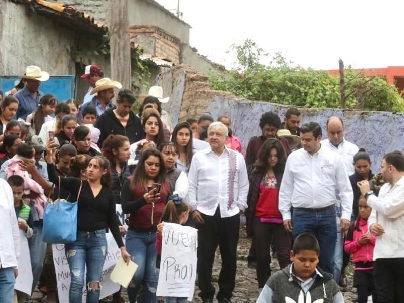 López Obrador anuncia obras en Nayarit