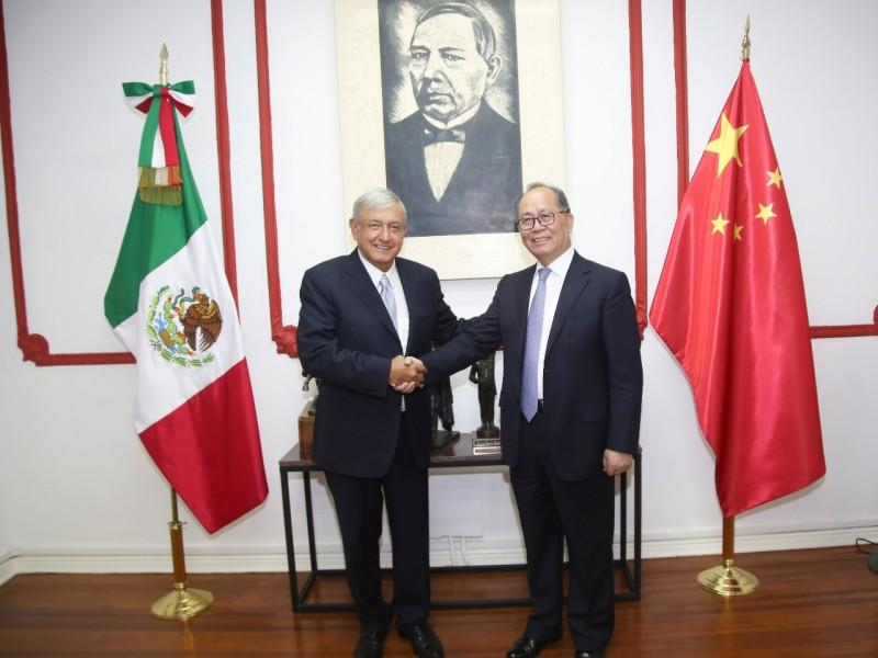 AMLO busca reducir déficit comercial con China