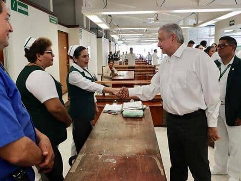 AMLO continuará recorrido por hospitales de Chiapas