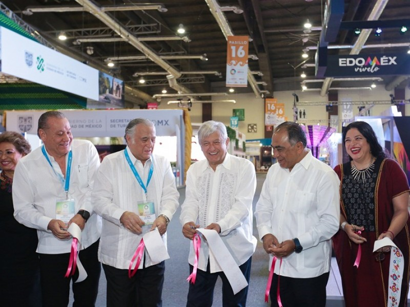AMLO inaugura Tianguis Turístico 2019 en Acapulco