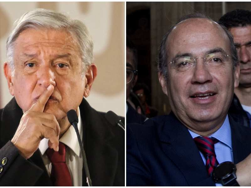 AMLO llama a Calderón comandante 'Borolas'