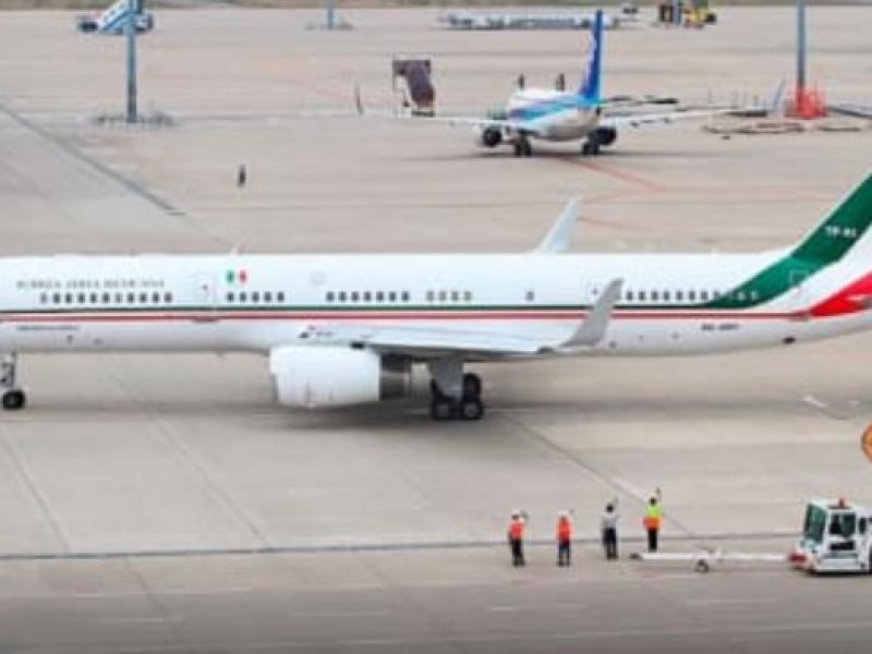 AMLO pide a Trump comprar avión presidencial