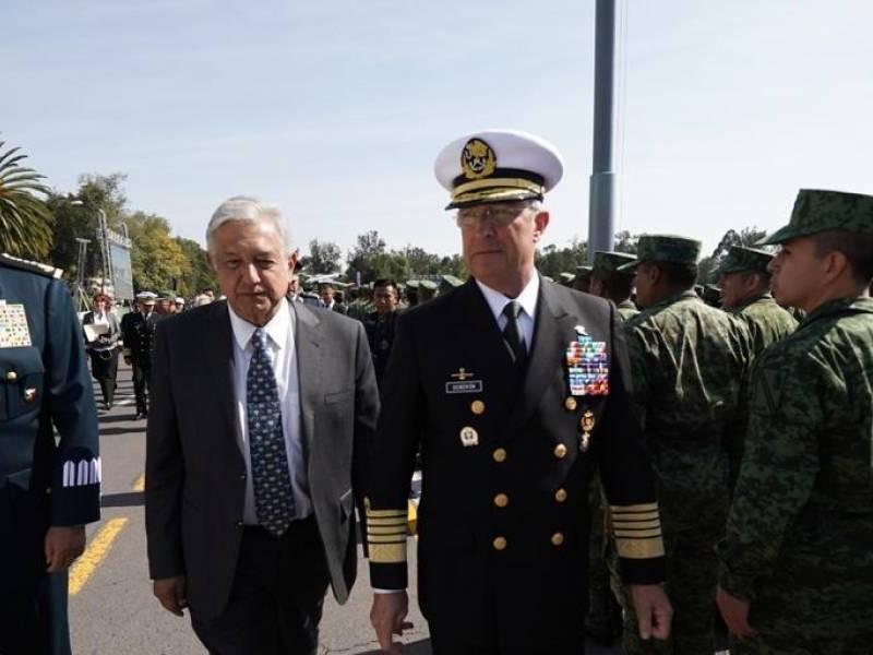 AMLO pide apoyo de Fuerzas Armadas para GuardiaNacional