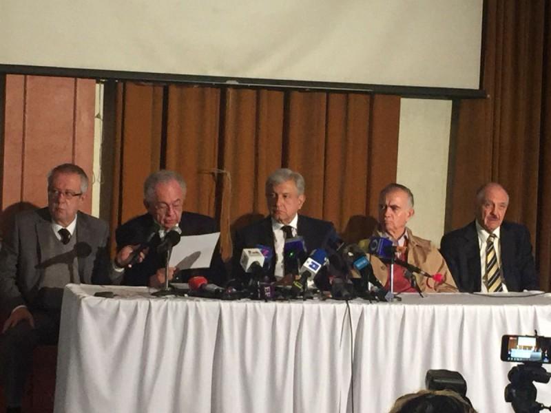 AMLO pone a consulta dos opciones sobre aeropuerto
