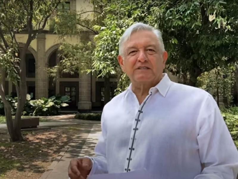AMLO resalta peor momento de la pandemia en Mayo
