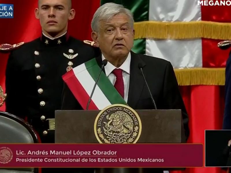 AMLO rinde mensaje como Presidente de México