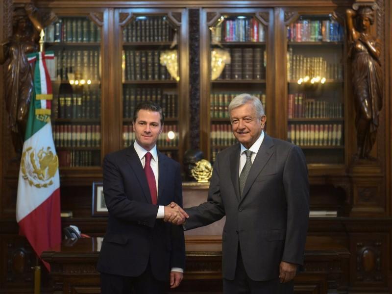 AMLO se reúne con Peña Nieto