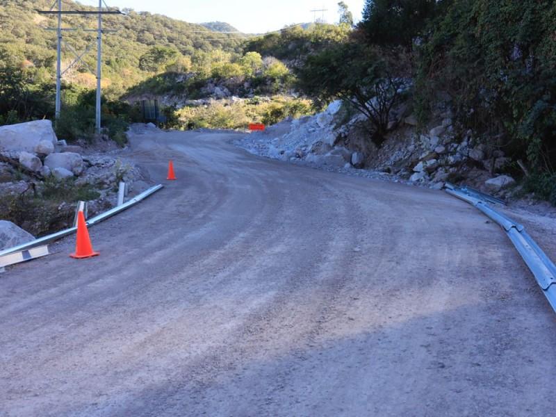 AMLO supervisa avance de la carretera Presa-La Yesca